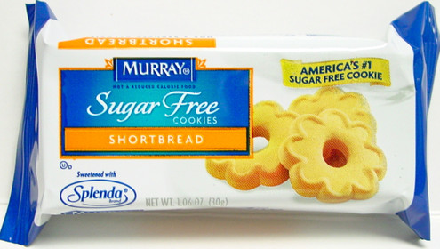 Murry Sugarfree Shortbread Cookies, 1.06 oz Portion Control Pack (30g) Kosher OU dairy