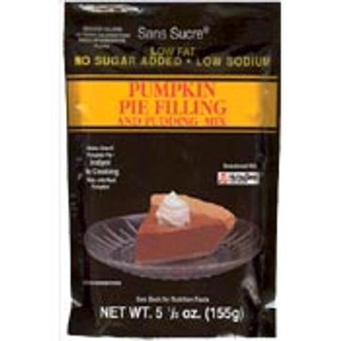 Sans Sucre Low Fat No Sugar Added Pumkin Pie Filling & Pudding Mix 5.5 oz