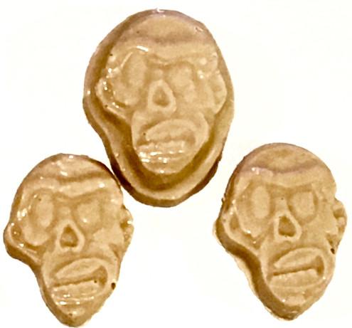 sugar free peanut butter chocolate  zombie heads