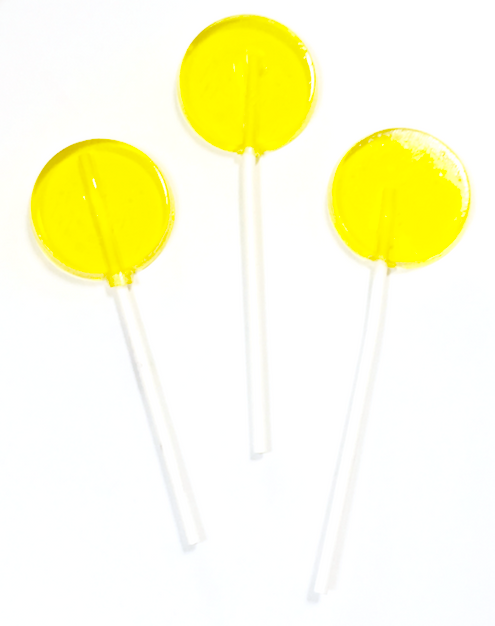 sugar free lemon lollipops