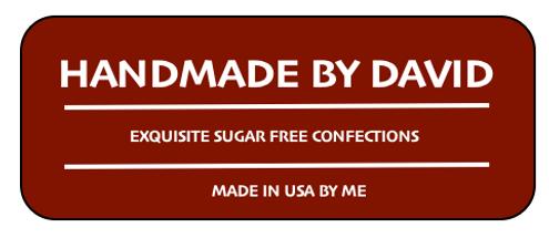 Sugar Free CARAMEL Flavored Isomalt Lollipops (10 pops) Individually Wrapped