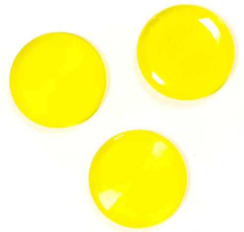 sugar free lemon hard candy disks