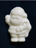 Mini White Chocolate .4 oz Sugar Free Santa, Individually Wrapped (set of 4)