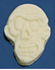 Sugar Free Chocolate Zombie Heads, .2 oz, (1.75 inch), individually wrapped, Set of 4