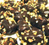 sugar free chocolate covered banana taffy with roasted almonds