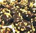 sugar free chocolate covered banana taffy with roasted almonds