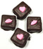 Sugar Free Chocolate Covered Marshmallows w/Valentine's Motiff  4 pack