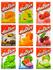 MIX or MATCH Halter Bonbon Hard Candy: Coffee, Watermelon, Cherry, Raspberry, Mint, Orange, Lemon