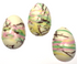Sugar Free White Chocolate Easter Egg, 1 oz, Set of 3