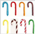 MIX or MATCH SINGLE Gourmet Sugar Free Candy Canes