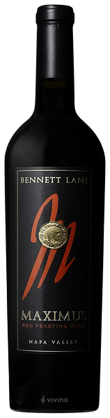 Bennett Lane Maximus Red Feasting Napa Valley 2012