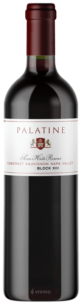 Palatine Cabernet Sauvignon Seven Hills Reserve Block XIII Yountville 2016