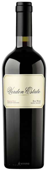 Verdon Estate Reserve No.5 Blueline Vineyards Proprietary Red Napa Valley 2015