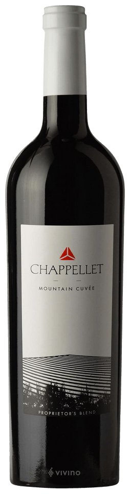 Chappellet Mountain Cuvee Proprietor's Red Blend 2016
