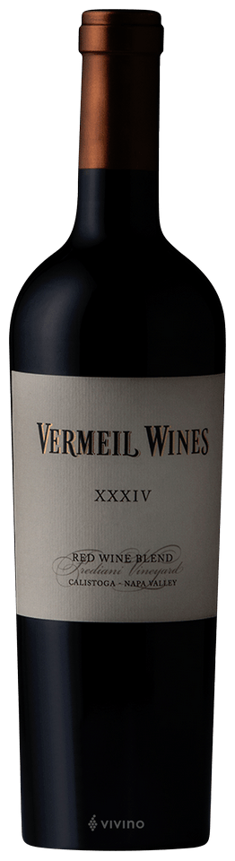 Vermeil XXXIV Proprietary Red Wine Napa Valley 2016