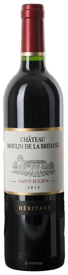 Chateau Moulin de la Bridane Saint-Julien 2015