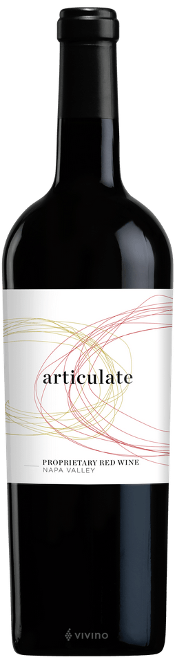 Articulate Proprietary Red Napa Valley 2016
