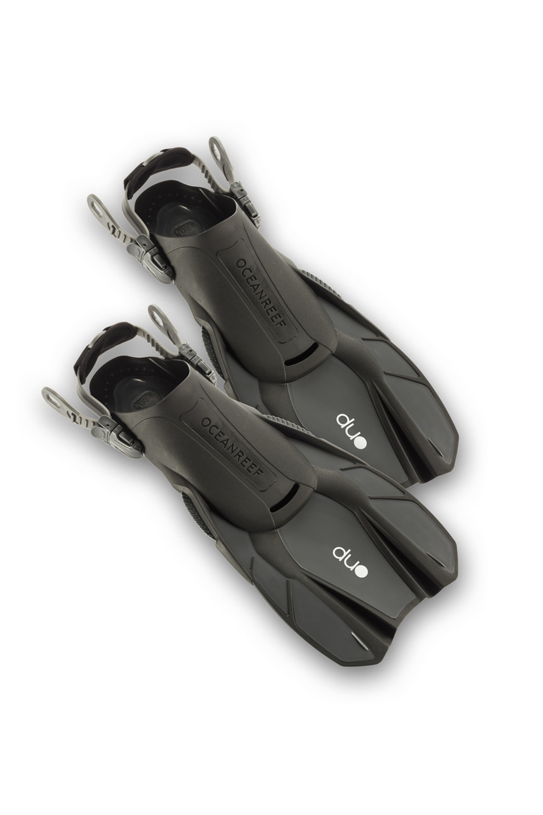 Duo - Travel Ready Fins GREY