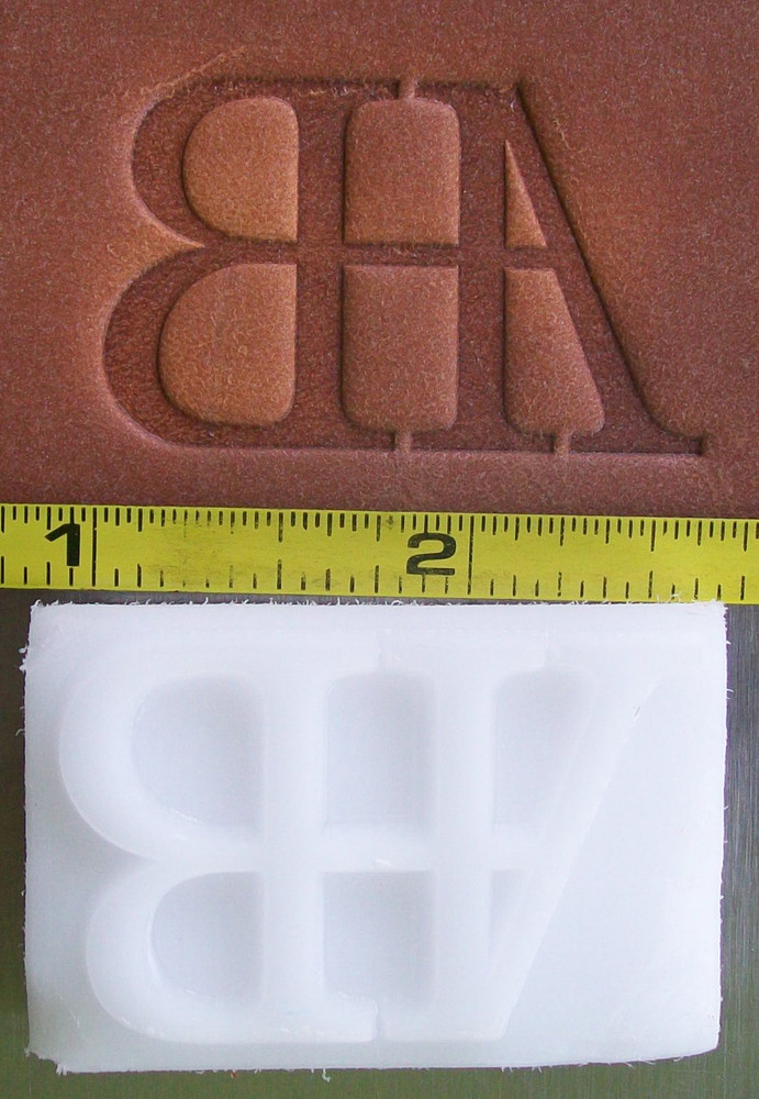 Custom Leather Stamp Option for Slings (must contact us with image prior to purchase)