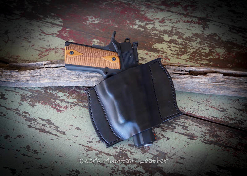 Style 9 Leather Pocket Holster for small frame guns - Ozark