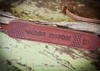 Hand tooled leather custom rifle sling with name or initials.  Makes great gift made in USA.