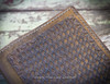 Veg tanned leather Book, Journal or Bible Cover Hand Tooled
