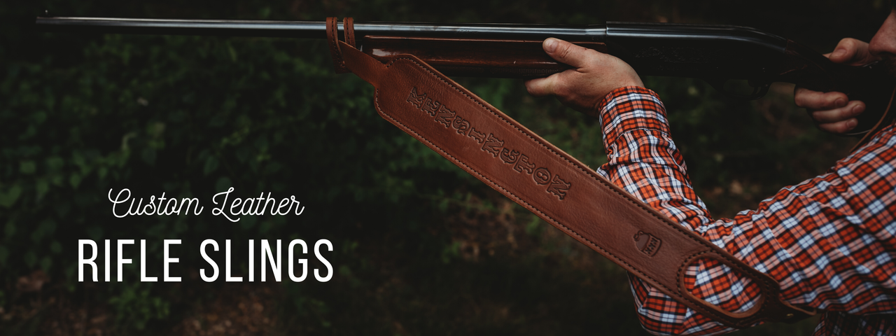 shotgun sling with thumbhole