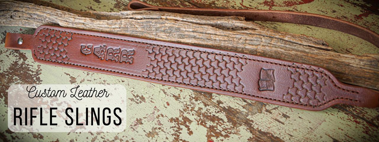 Slim style rifle sling