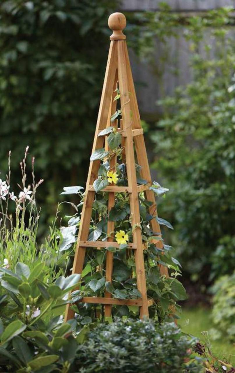 Traditional Wooden Obelisks