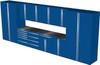12-Piece Blue Garage Cabinet Set (12003)