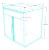 12-Piece Black Garage Cabinet Set (12006)