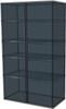 2-Piece Black Garage Cabinet Set (20780)