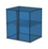6-Piece Black Garage Cabinet Set (60904)