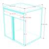 Saber 7-Piece Silver Garage Cabinet Set (7002)