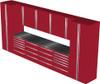 12-Piece Red Garage Cabinet Set (12001)