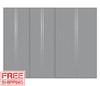 9' Silver Lockers set (3002)
