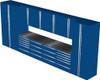 12-Piece Blue Garage Cabinet Set (12004)