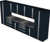 12-Piece Black Garage Cabinet Set (12005)
