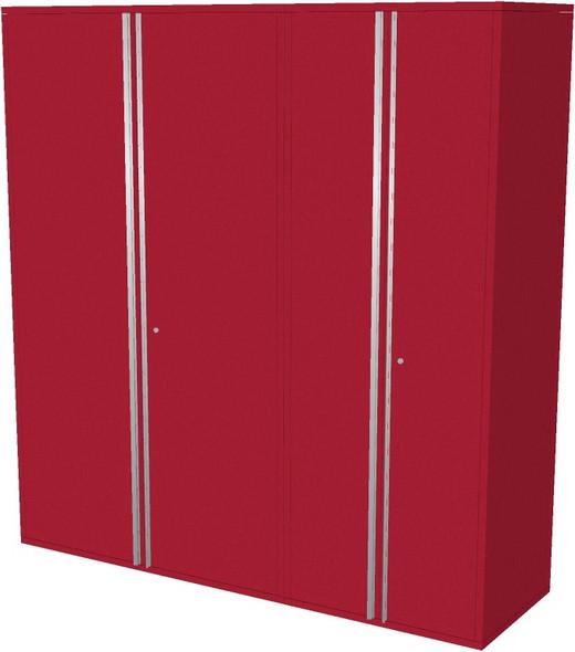 2-Piece Red Garage Cabinet Set (20780)