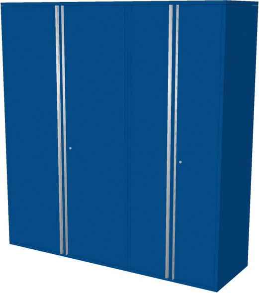2-Piece Blue Garage Cabinet Set (20780)