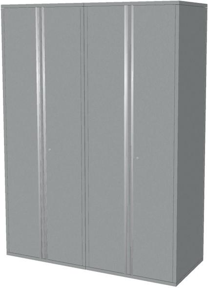 2-Piece Silver Garage Cabinet Set (20600)