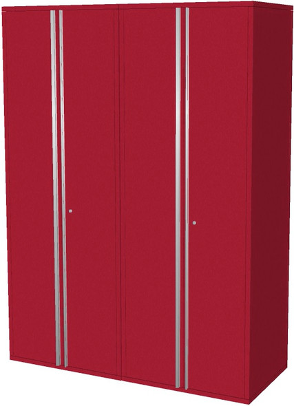 2-Piece Red Garage Cabinet Set (20600)