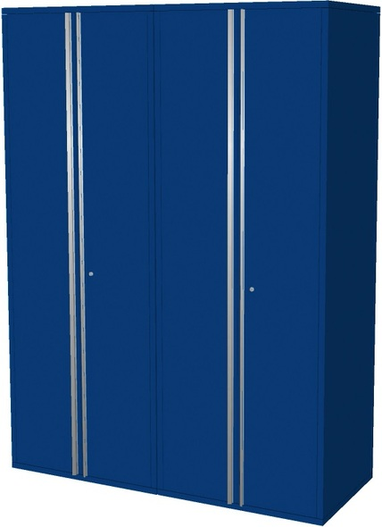 2-Piece Blue Garage Cabinet Set (20600)