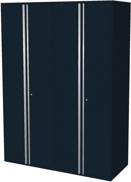 2-Piece Black Garage Cabinet Set (20600)