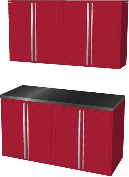 5-Piece Red Garage Cabinet Set (50600)