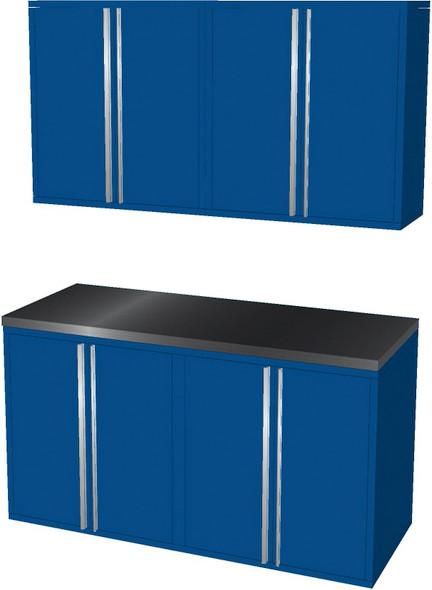 5-Piece Blue Garage Cabinet Set (50600)