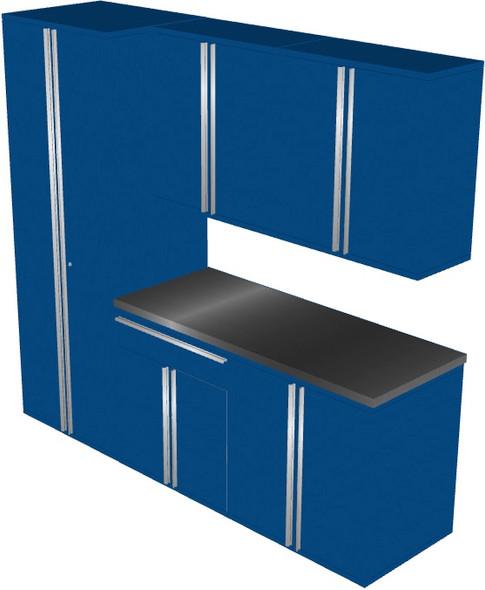 6-Piece Blue Garage Cabinet Set (60904)