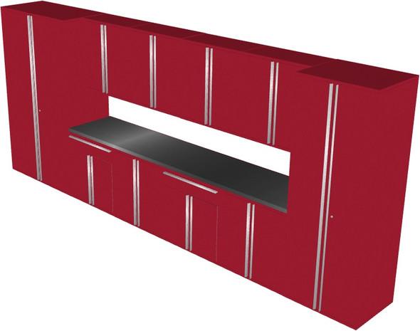 12-Piece Red Garage Cabinet Set (121984)