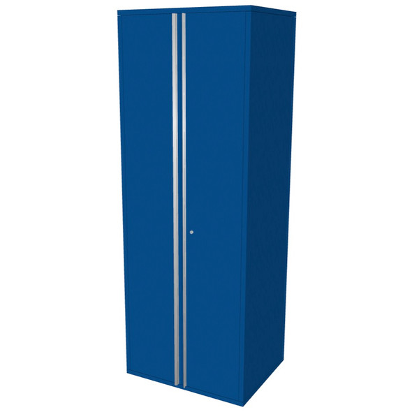 "Saber blue 30"" storage locker cabinet"