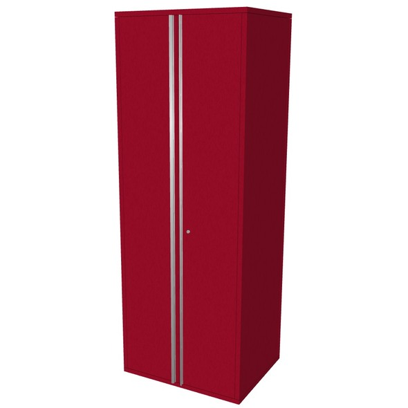 "Saber red 30"" storage locker cabinet"